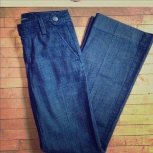 J.Crew Trouser Dark Wash Trouser Jeans